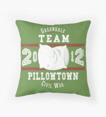 Team Pillowtown Throw Pillow