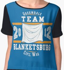 Team Blanketsburg Women's Chiffon Top