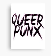 QUEER PUNX Canvas Print