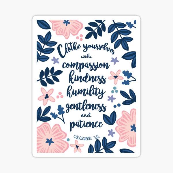 Colossians 3:12 Sticker