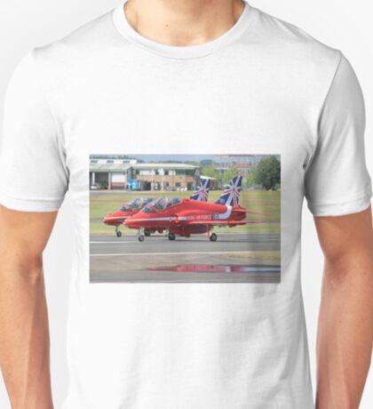 2 Reds Rolling - Farnborough 2014 T-Shirt