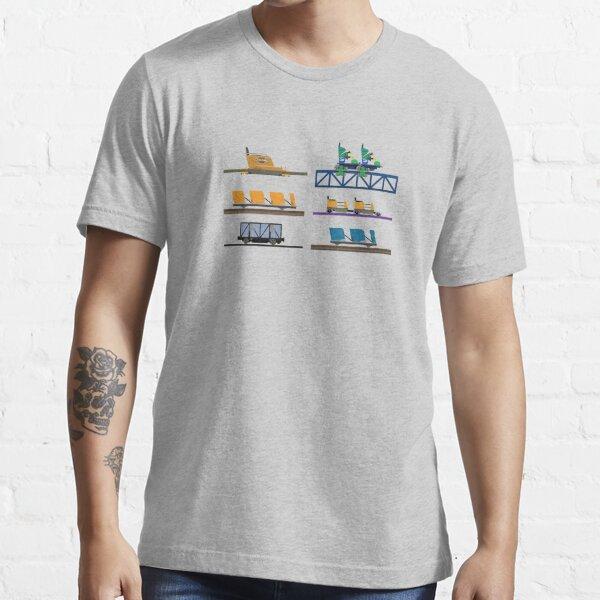 Knoebels Coaster Cars Design Essential T-Shirt