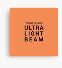 Kanye West: Das Leben von Pablo - Ultra Light Beam Leinwanddruck