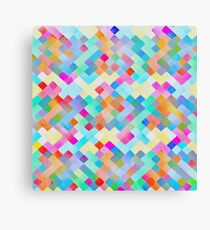 Candy Blocks Canvas Print