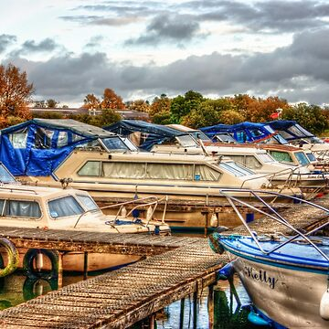 At the Marina HDR by InspiraImage