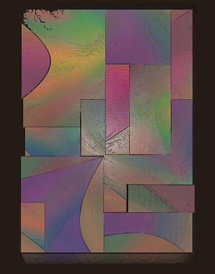 Abstract Five Twenty Five by Ginny Schmidt