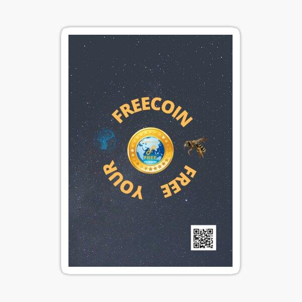 Soyez libre, libérez votre esprit Sticker