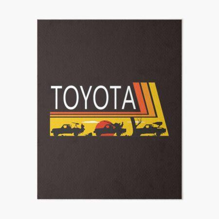 TOYOTA PARTY Art Board Print