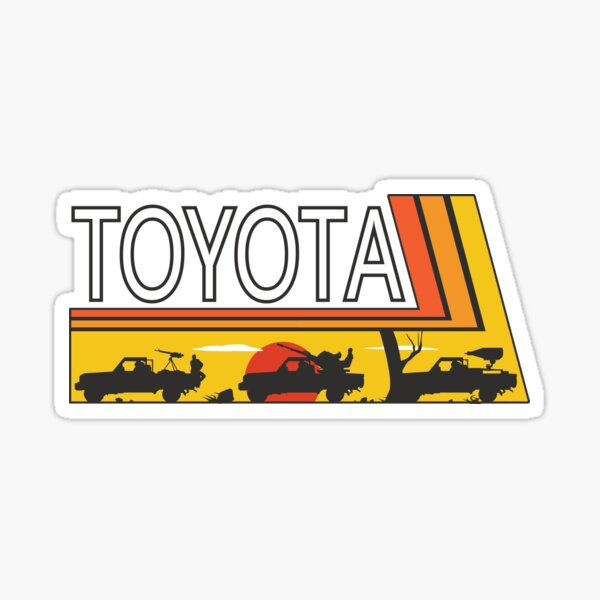 TOYOTA PARTY Sticker