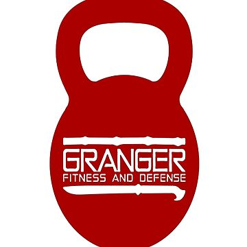 Red Kettlebell Logo for Granger Fitness and Defense by johngranger