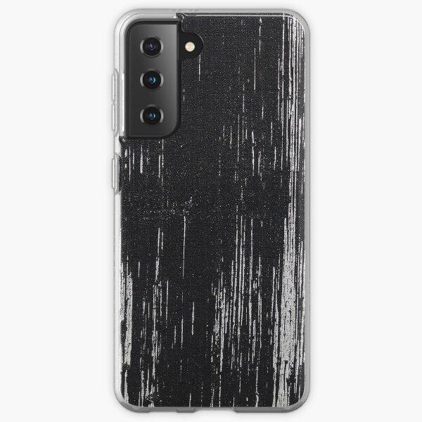 Black Brush Stroke Samsung Galaxy Soft Case