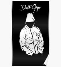 Black Death Grips Hoodie Poster