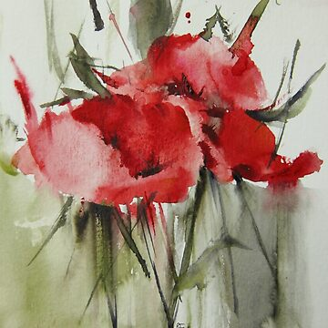 three poppies von welallmwel