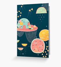 When You Wish Upon A Watermelon Greeting Card