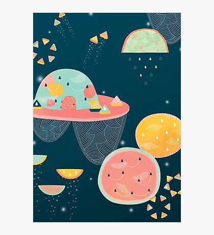 When You Wish Upon A Watermelon Photographic Print