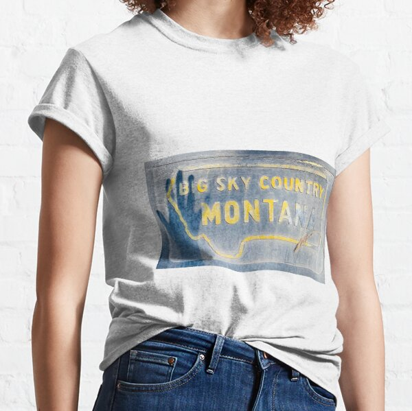 Big Sky Country Wave Classic T-Shirt