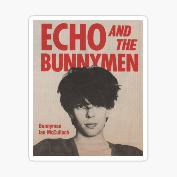 ECHO AND THE BUNNYMEN Sticker