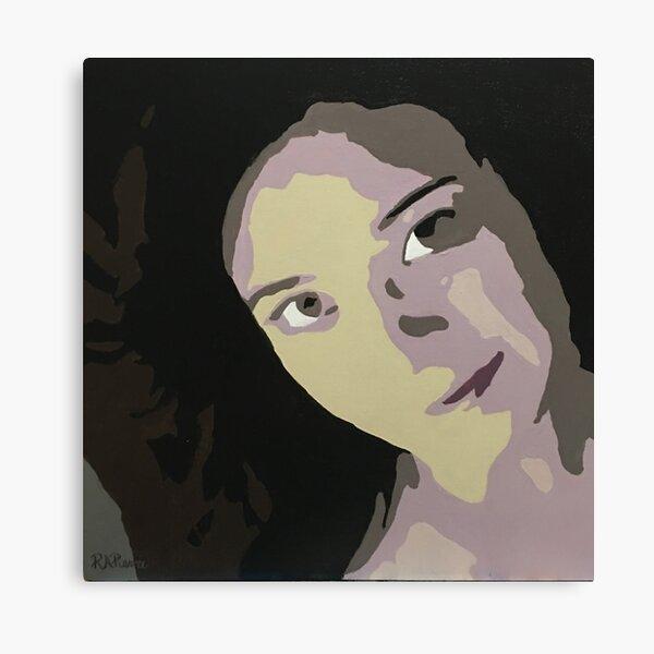 Selp Portrait Canvas Print