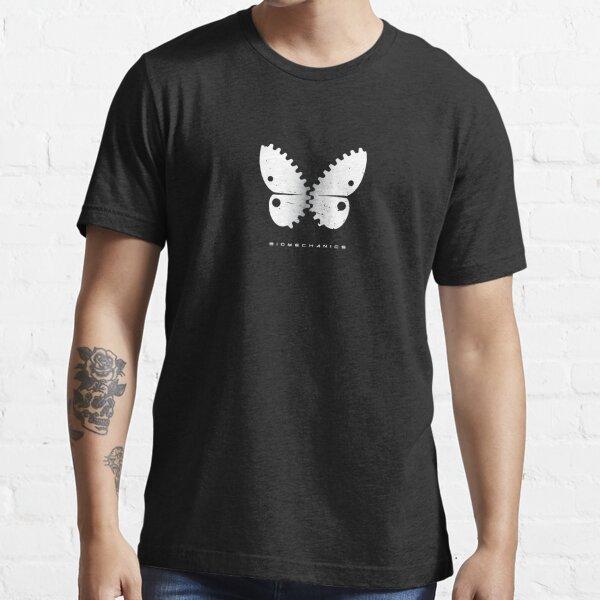 Biomechanics Butterfly 2 (Silver) Essential T-Shirt
