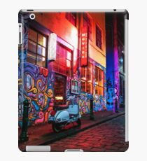 Evening in Hosier Lane iPad Case/Skin