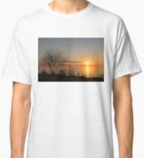 Calm, Sunny and Peaceful - a Lake Shore Daybreak Classic T-Shirt