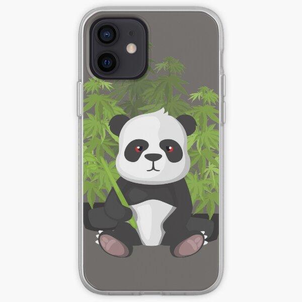 High panda iPhone Soft Case