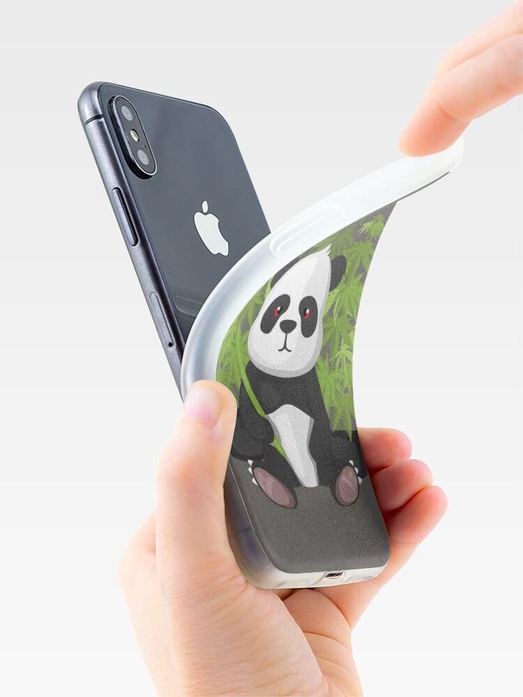 Alternate view of High panda iPhone Case & Cover