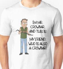 Rick and Morty – Mr. Crowbar Unisex T-Shirt