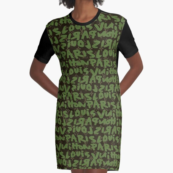 lux shadow mask3 Graphic T-Shirt Dress