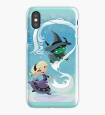 Defying Gravity and Letting Go iPhone Case