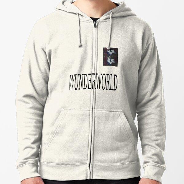 wunderworld X aries collab rare original design Zipped Hoodie