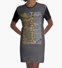 Trainspotting 2.0 Graphic T-Shirt Dress