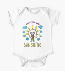 Make Your Own Sunshine - Cute Whimsical Mouse Watercolor Illustration Kids Clothes