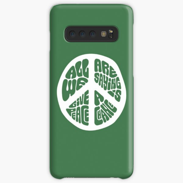 Peace Samsung Galaxy Snap Case