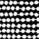 Dots in Rows - BW by Andrea Lauren von Andrea Lauren