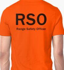 RSO - Range Safety Officer Unisex T-Shirt