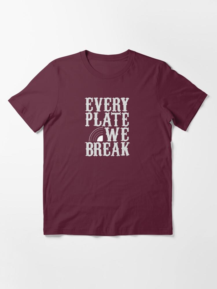 Alternate view of everyplatewebreak - logo Essential T-Shirt