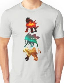 the legendary trio (beasts) Unisex T-Shirt