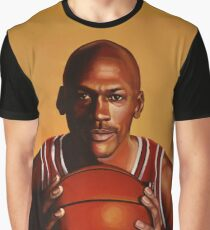 Michael Jordan painting 2 Graphic T-Shirt