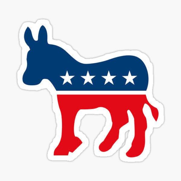 Stolzer Demokrat - Demokratische Partei Sticker