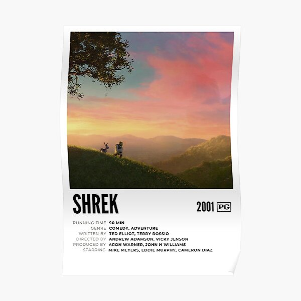 Shrek Movie Poster I Poster