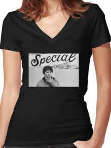 Special Orders Elliott Smith Women's Fitted V-Neck T-Shirt