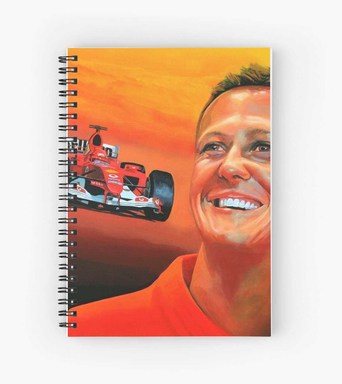 Michael Schumacher painting by PaulMeijering