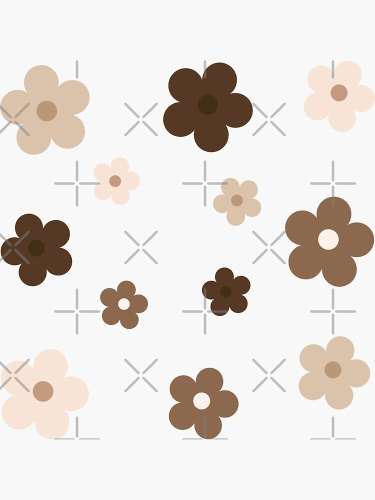 nude/brown flowers by foIkIore