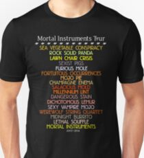 The Mortal Instruments Tour Unisex T-Shirt