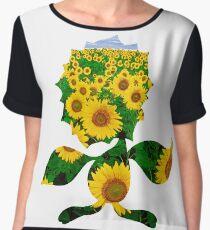 Sunflora used solar beam Women's Chiffon Top