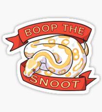 Boop the Snoot Sticker