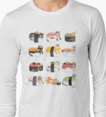 Nekozushi Long Sleeve T-Shirt