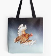 if chickens could fly... Tote Bag