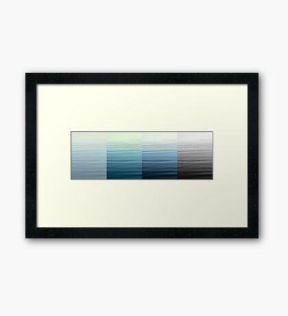 Fading Memory Framed Print